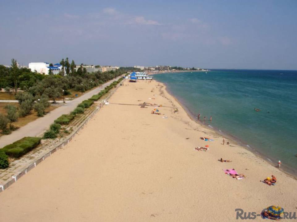 евпатории пляж фото